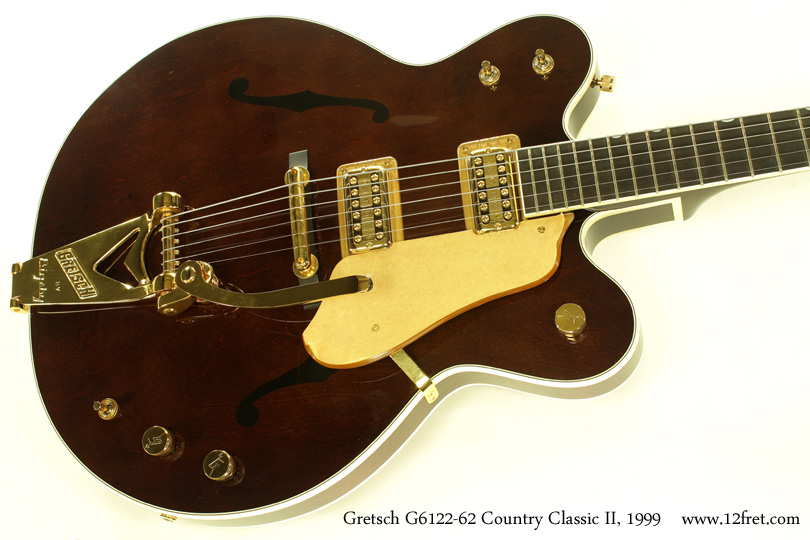 Gretsch G6122-1962 Country Classic II 1999 top