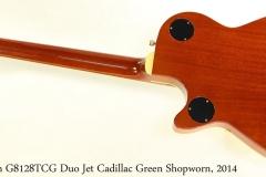 Gretsch G8128TCG Duo Jet Cadillac Green 2014 Full Rear View