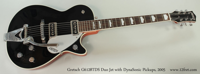 Gretsch G6128TDS Duo Jet with DynaSonic Pickups, 2005 Full Front View