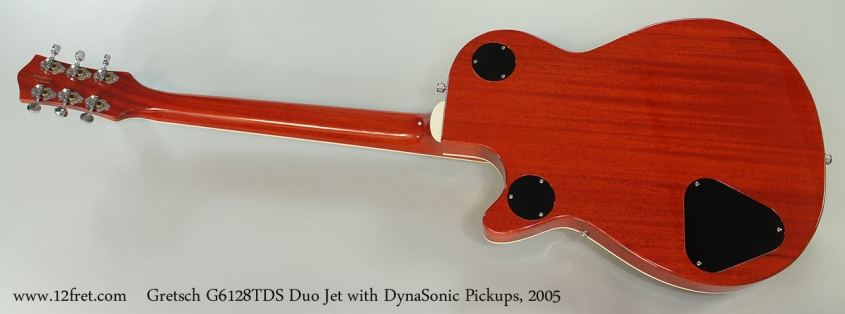Gretsch G6128TDS Duo Jet with DynaSonic Pickups, 2005 Full Rear View