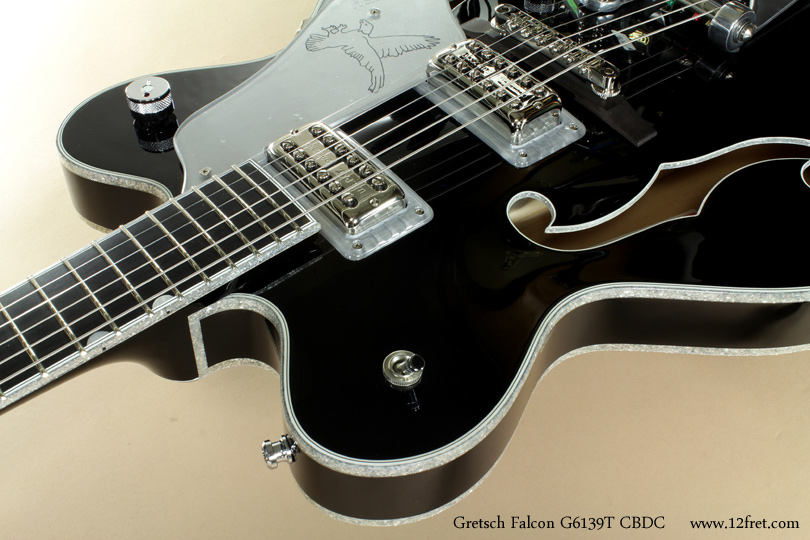 Gretsch Falcon G3139T CBDC Black  binding
