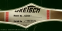Gretsch G6196T Country Club Cadillac Green 2013 label