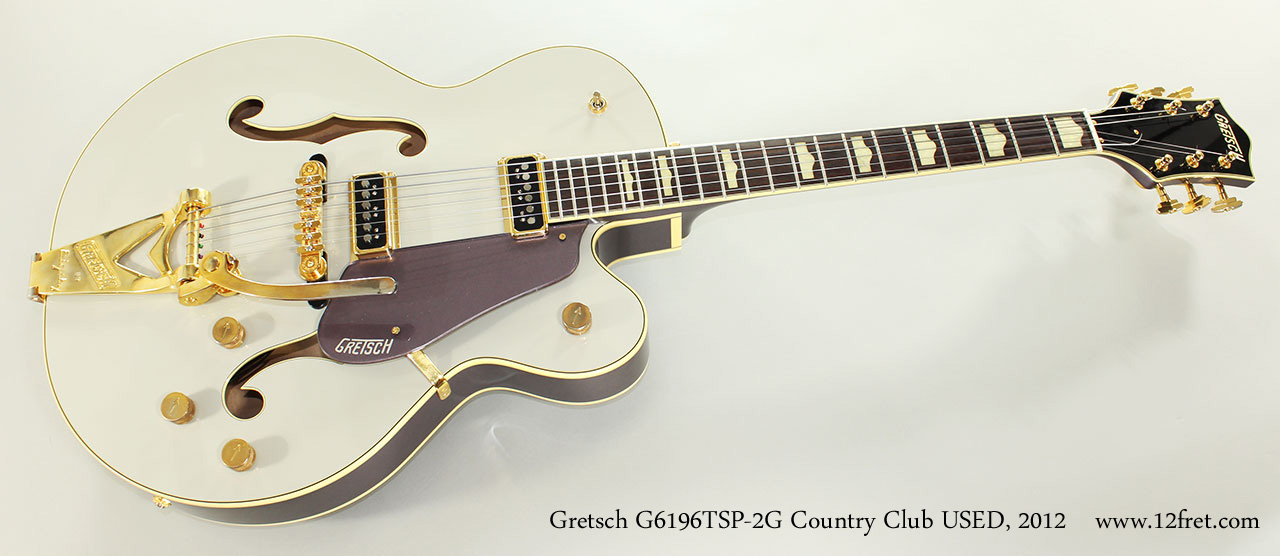 Gretsch G6196TSP-2G Country Club USED, 2012 Full Front View