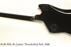 Gretsch G6199 Billy Bo Jupiter Thunderbird Red, 2006 Full rear View