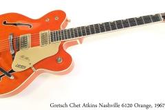 Gretsch Chet Atkins Nashville 6120 Orange, 1967 Full Front View