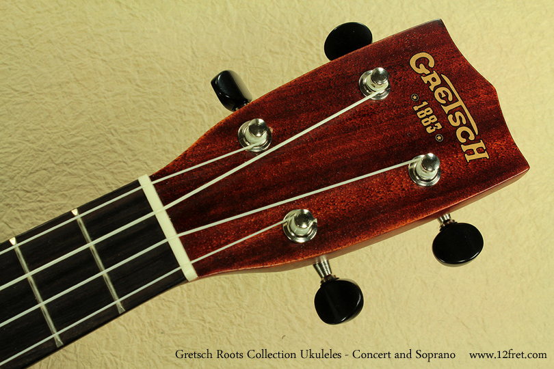 Gretsch Roots Collection Ukuleles head front