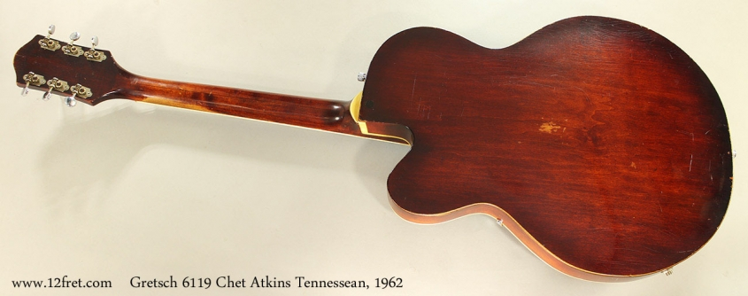 Gretsch 6119 Chet Atkins Tennessean, 1962 Full Rear View