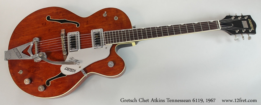 Gretsch Chet Atkins Tennessean 6119, 1967 Full Front View