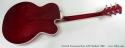 Gretsch Tennessee Rose Left Handed 1999 full rear view