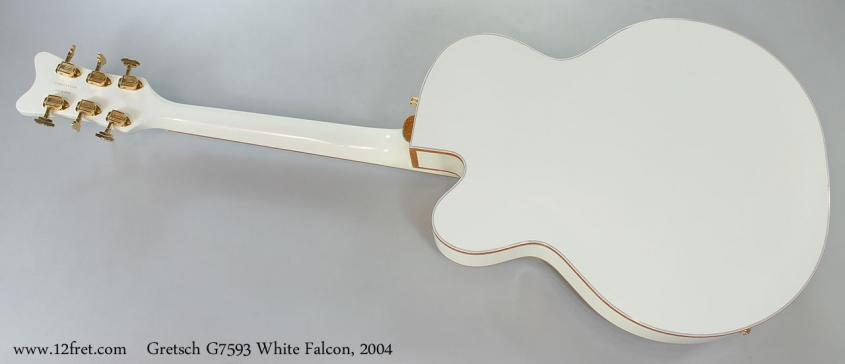 Gretsch G7593 White Falcon, 2004 Full Rear View