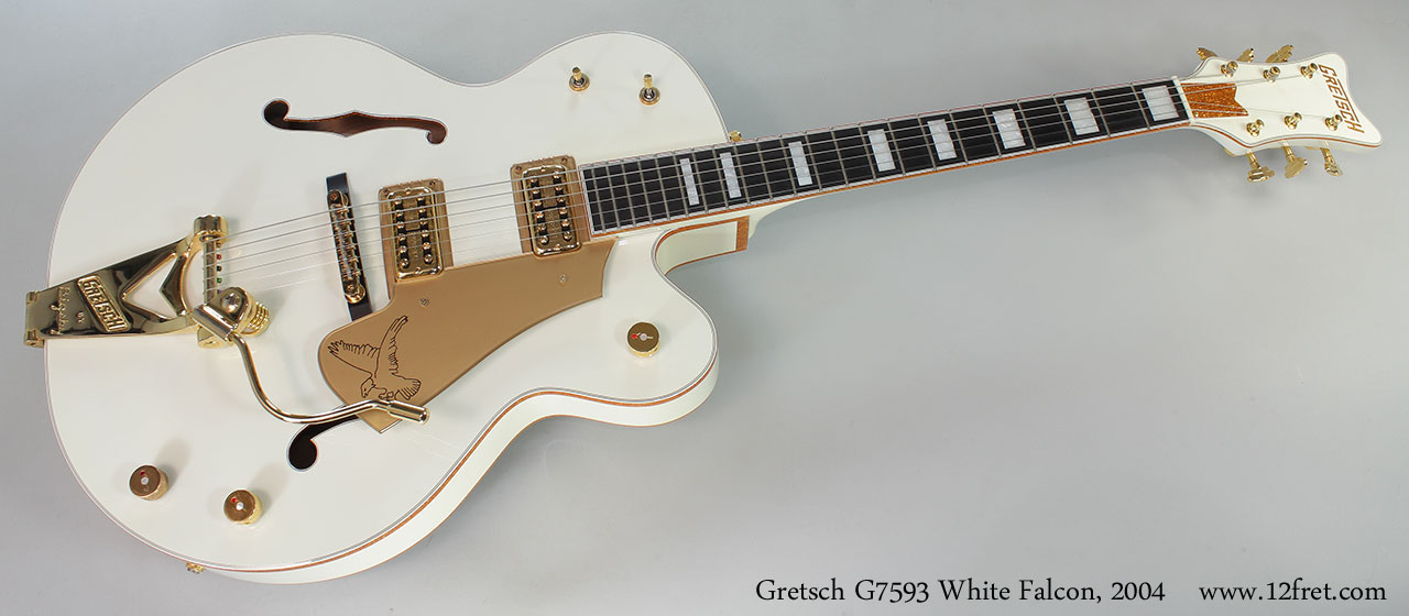 Gretsch G7593 White Falcon, 2004 Full Front View