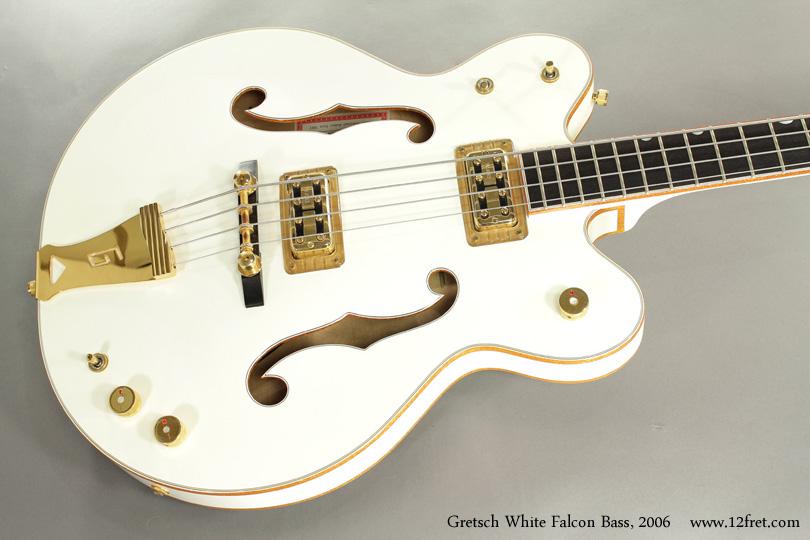 Gretsch White Falcon Bass G6136LSB 2006 top