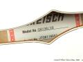 Gretsch White Falcon Bass G6136LSB 2006 label