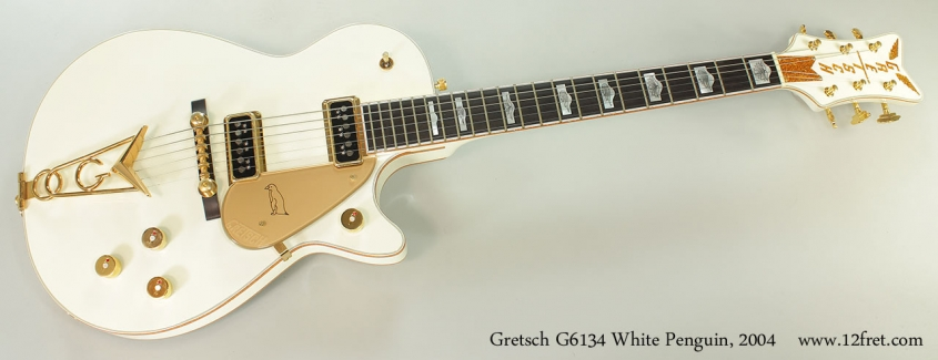 Gretsch G6134 White Penguin, 2004 Full Front View