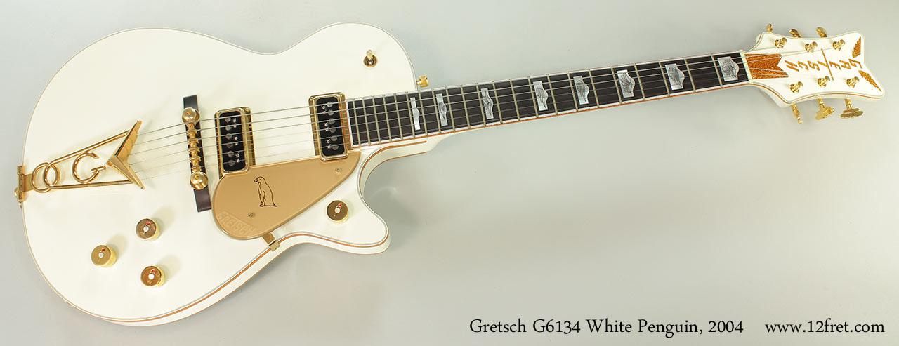 Gretsch G6134 White Penguin, 2004 Full Front View