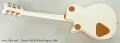 Gretsch G6134 White Penguin, 2004 Full Rear View