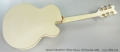 Gretsch G6136TLH White Falcon, Left Handed, 2005 Full Rear View