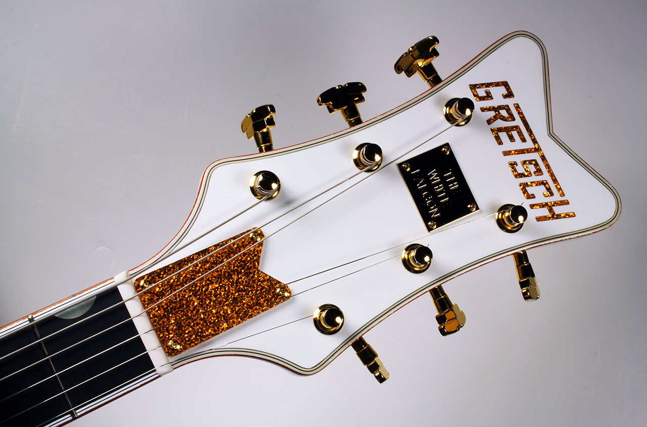 Gretsch White Falcon G6136 head front