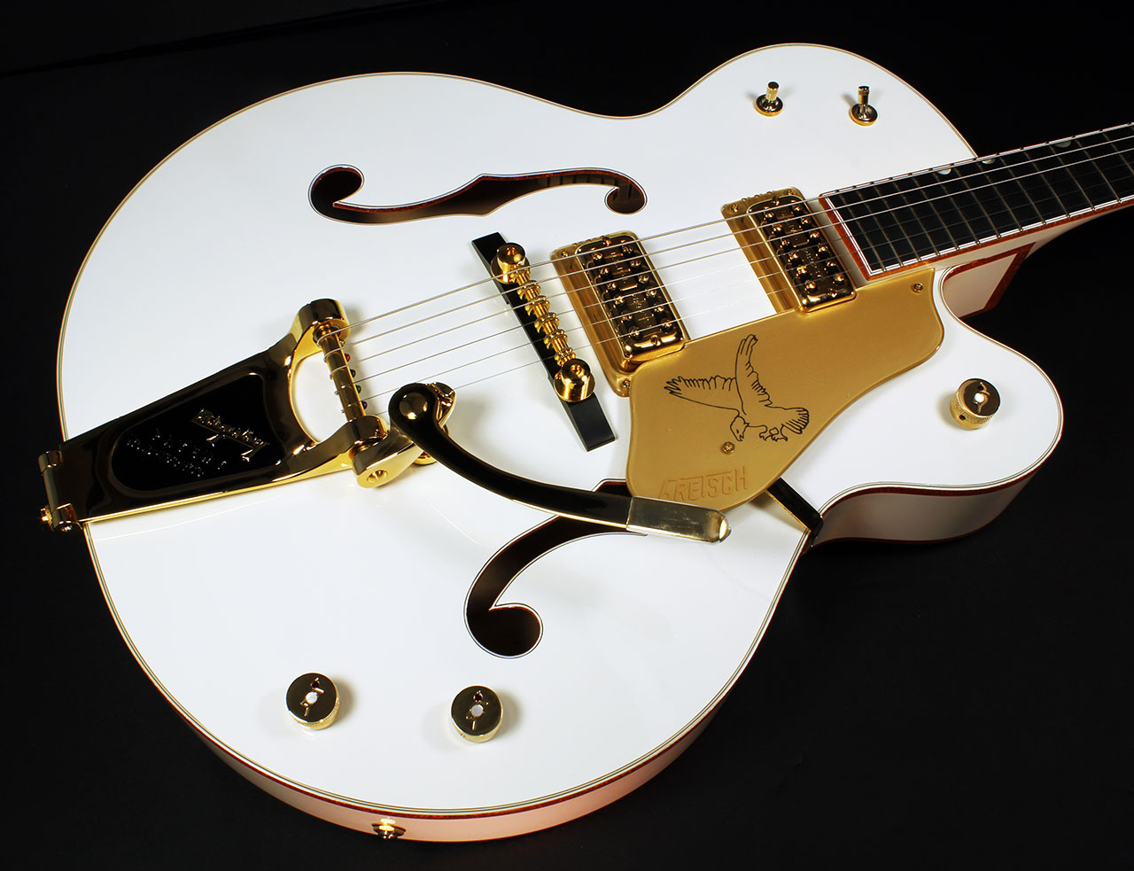 Gretsch White Falcon G6136 top
