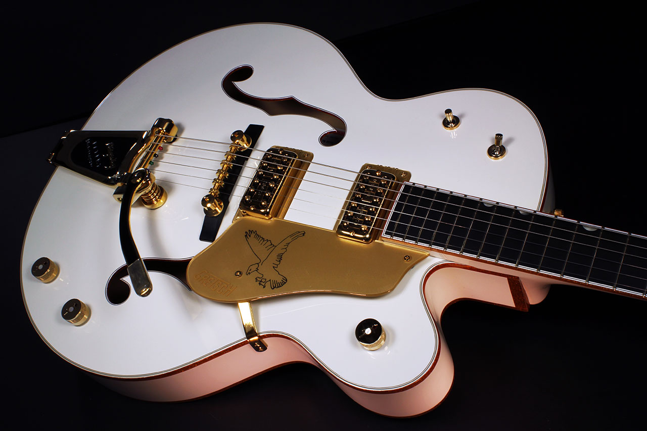 Gretsch White Falcon G6136 top 2