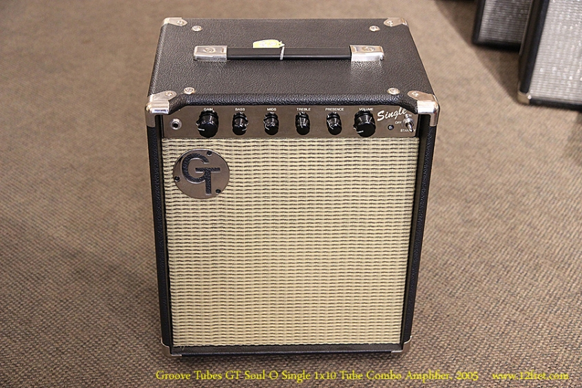 Groove Tubes GT Soul-O Single 1x10 Tube Combo Amplifier, 2005 Full Front View
