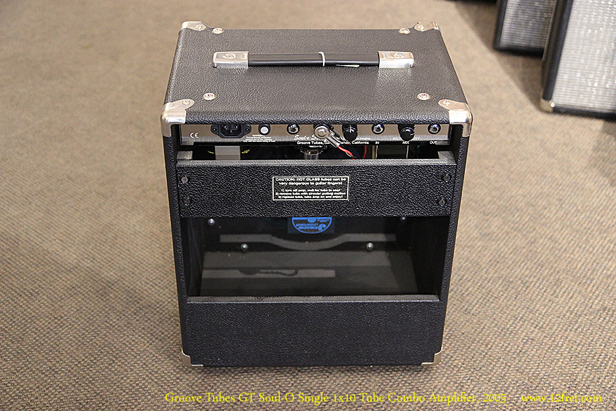 Groove Tubes GT Soul-O Single 1x10 Tube Combo Amplifier, 2005 Full Rear View