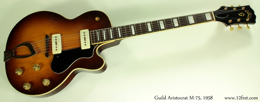 Guild Aristocrat M-75 1958 full front
