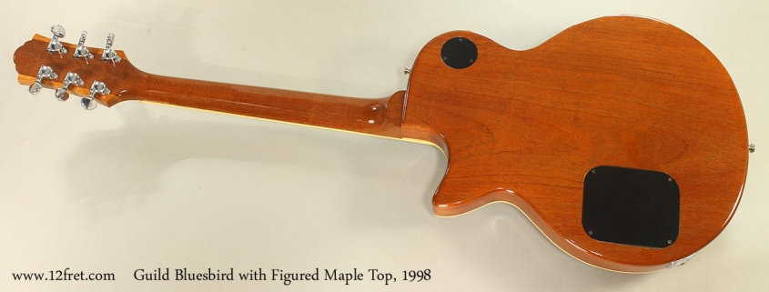 Guild Bluesbird with Figured Maple Top, 1998 Full Rear View