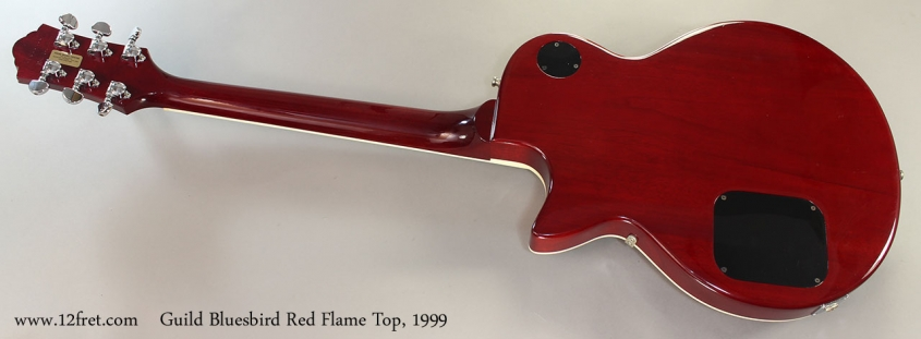 Guild Bluesbird Red Flame Top, 1999 Full Rear View