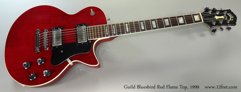 Guild Bluesbird Red Flame Top, 1999 Full Front VIew