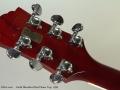 Guild Bluesbird Red Flame Top, 1999 Head Rear
