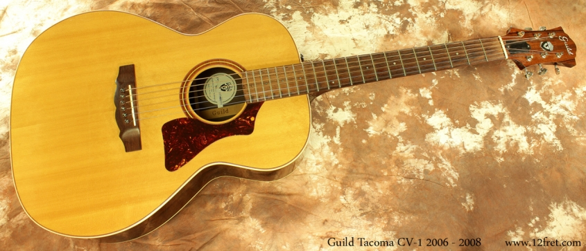 Guild Tacoma CV-1 2006 - 2008 full front view