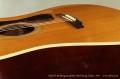 Guild D-40 Bluegrass Jubilee Steel String Guitar, 1971  Bridge View