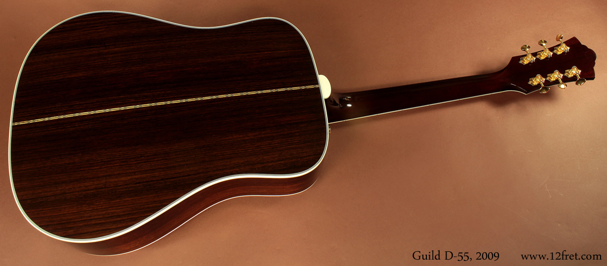 2009 Guild D-55 Dreadnought | www 12fret com