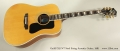 Guild D55 NT Steel String Acoustic Guitar, 1981 Full Front View