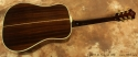 Guild D55NT Natural Dreadnought 1980 full rear view