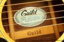 Guild D55NT Natural Dreadnought 1980 label