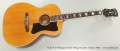 Guild F-47 Bluegrass Steel String Acoustic Guitar, 1965 Full Front View