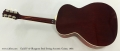 Guild F-47 Bluegrass Steel String Acoustic Guitar, 1965 Full Rear View