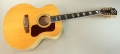 Guild F-412 12 String Guitar, Blonde, 2011 Full Front VIew
