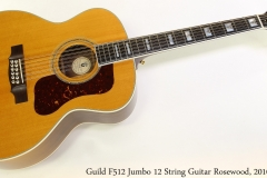 Guild F512 Jumbo 12 String Guitar Rosewood, 2010 Full Front View
