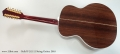 Guild F-512 12 String Guitar, 2010 Full Rear View