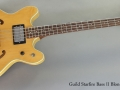Guild Starfire Bass II Blonde 1974 full front view