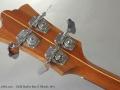 Guild Starfire Bass II Blonde 1974 head rear