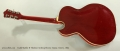 Guild Starfire II Thinline Archtop Electric Guitar, Cherry, 1964 Full Rear View