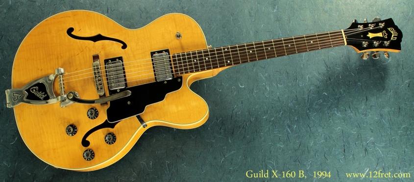 Guild X-160 B 1994 full front