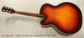 Guild X-175 Manhattan Archtop Electric Guitar, 1963 Full Rear View