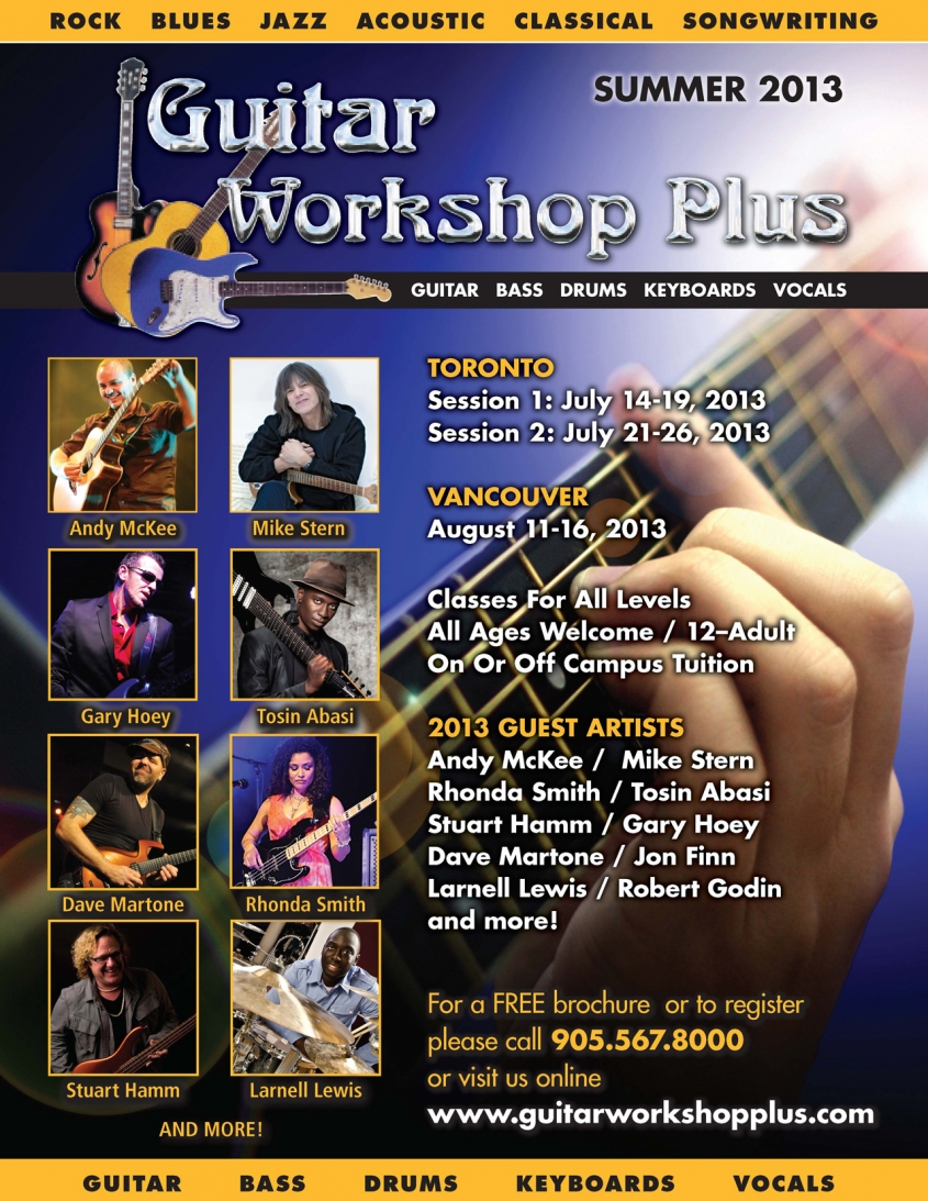 Guitar Workshop Plus Posters main