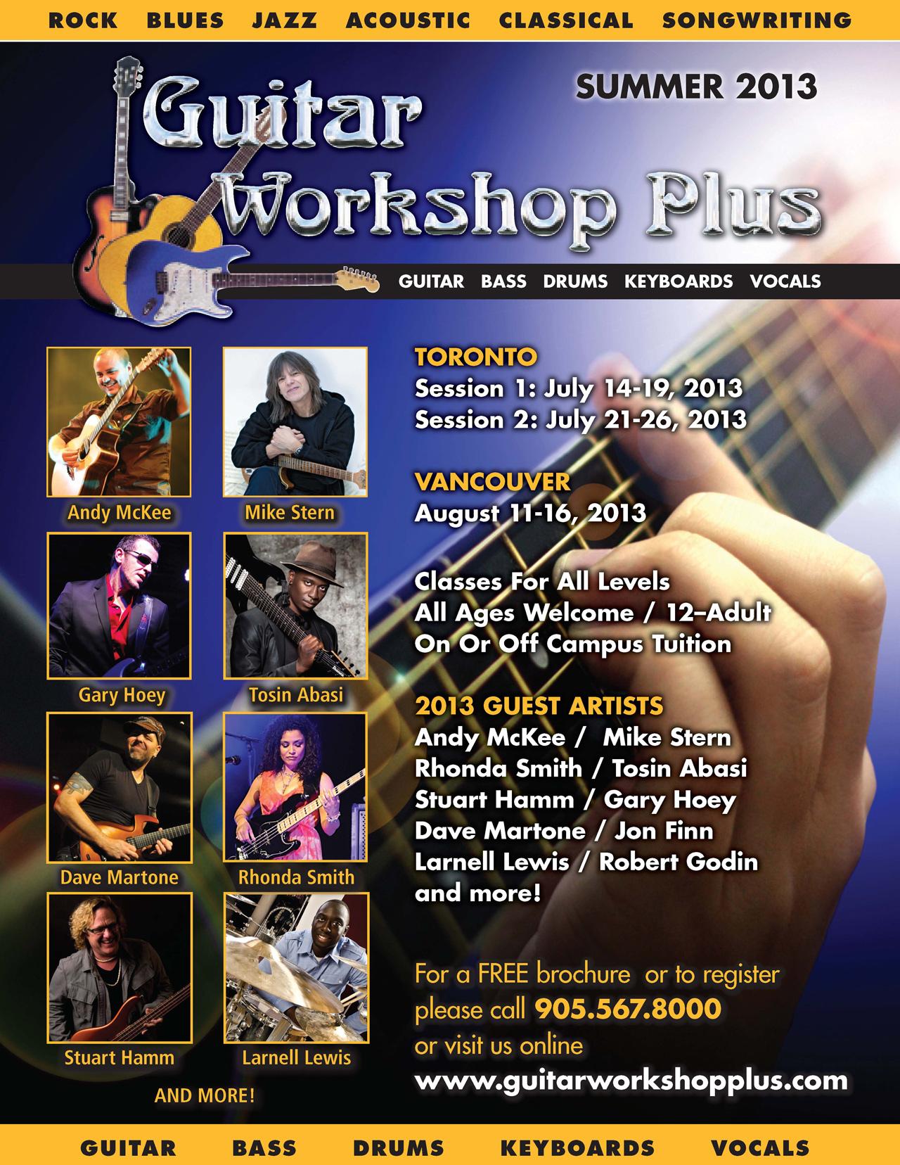 Guitar Workshop Plus Posters main