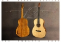 G W Barry 30-12 Koa 000+ Steel String Guitar 2016 Front and Back
